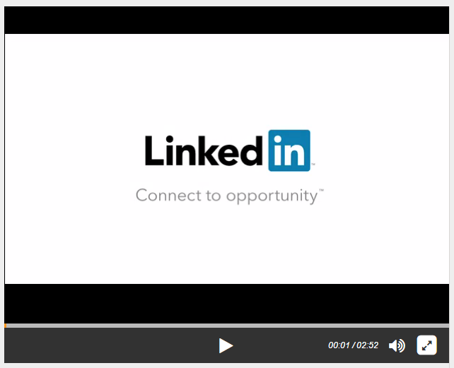 LinkedIn Video about acquisition of Lynda.com and pathway